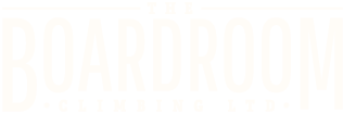 The Boardroom Climbing Logo