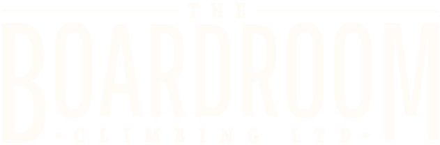 The Boardroom Climbing Retina Logo