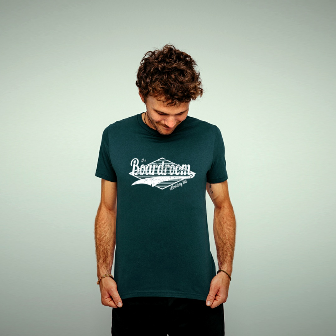 Mens Boardroom Diamond Logo Tee Shirt