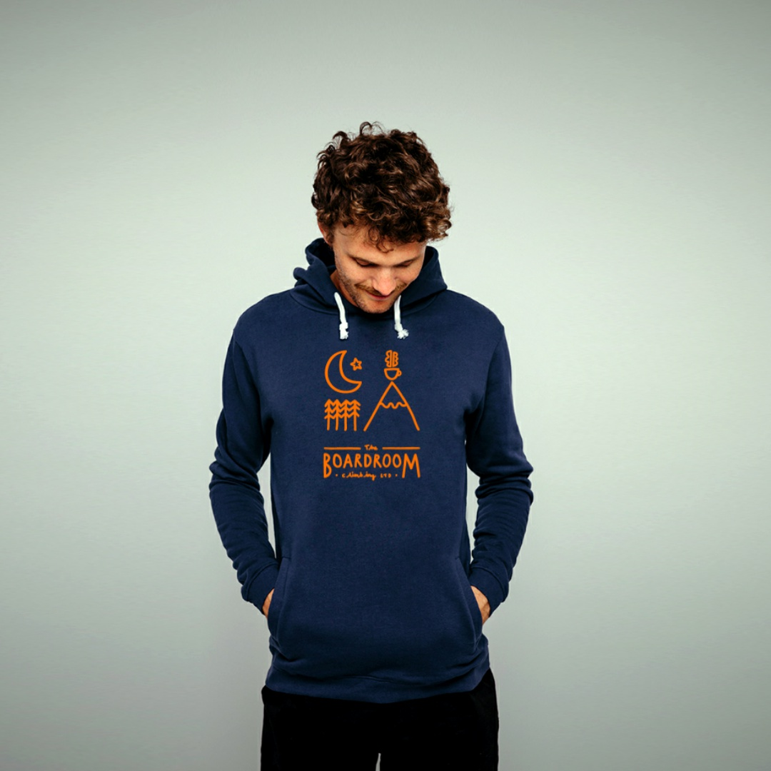 Mens Boardroom Mountain Brew View Hoodie